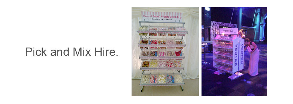 Pick-n-Mix Stand Hire – Weddings, Events